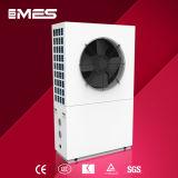 Calentador de agua de bomba de calor de aire a agua 9kw 3 fases