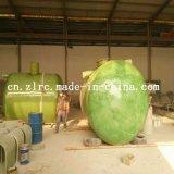 El tanque de agua biológico de Sweage del tanque de la purificación del tanque séptico de FRP