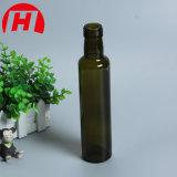 250ml rond vert foncé bouteille d'huile d'OLIVE Huile de cuisson