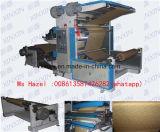 Linha de empacotamento plástico 2 da cor Flexographic da máquina de impressão 2 de Flexo da cor da máquina de impressão 2 da cor máquina de impressão não tecida de Flexo