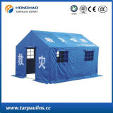 Al aire libre impermeable resistente al fuego PVC resistente recubierto tienda de campaña