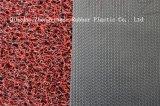 doppia & singola di colore del pavimento stuoia del PVC 3G con la protezione del diamante
