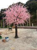 モモ木のグウSLモモ木3mの人工的なプラントそして花