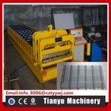 電流を通された鋼板の艶をかけられた屋根瓦は機械を形作ることを冷間圧延する