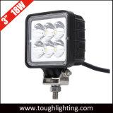12V 3 인치 18W 정연한 Epistar LED 광업 일 빛