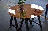 8mm Brozen tintados espejo de cristal templado de seguridad para los muebles mesa