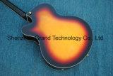 L5 plein de corps creux F-trous Guitare Jazz électrique dans la solarisation (gj-25)