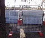 L'Australie a galvanisé la clôture provisoire pour des chantiers de construction