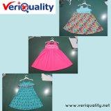 Младшее обслуживание осмотра качественного контрола платья на Shishi, Fujian