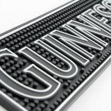 주문 로고 인쇄 고무 PVC 바 매트의 중국 Facotry