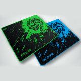 Kundenspezifisches Firmenzeichen-Drucken-heiße Spiel-Mausunterlage mit Overlocked Rand