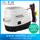 Pompe à eau de qualité avec le commutateur d'automobile de flotteur