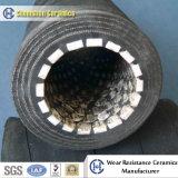Doublure en céramique avec l'Usure du tuyau flexible en caoutchouc résistant cylindre