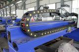 Pórtico-Tipo máquina de estaca do CNC para o metal de folha