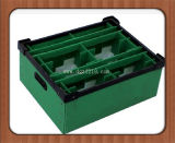 High Quality를 가진 착색된 Customized PP Plastic Corrugated Sheet Container