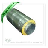 0,8 mm tuyau spirale isolée à double paroi pour l'évent