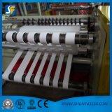 Бумажная разрезая Rewinder автоматическая разрезая бумаги перематывать машина