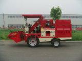가족 옥수수와 옥수수를 위한 작은 수확기 기계