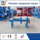 Machine manuelle de filtre-presse de laboratoire de vente chaude de la DZ