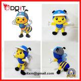 Brinquedo feito-à-medida do luxuoso da abelha do fabricante do brinquedo do luxuoso de China