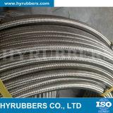 Beständiger HochtemperaturEdelstahl-umsponnener R14 hydraulischer Schlauch, PTFE Teflonschlauch