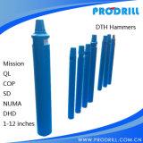 Hinunter das Loch niedriger/hoch des Luftdruck-DTH Hammer für Felsen-Wasser/wohle Bohrung