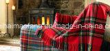 Tejido 100% manta de lana de lana virgen