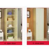 Eenvoudige Witte de Houten Garderobe van de Deur