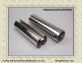 304의 유리제 담을%s 사각에 의하여 용접되는 스테인리스 슬롯 관