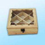 Eco-Friendly подгонянная коробка коробки подарка деревянная для индикации