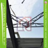 Bonne villa de construction préfabriquée de structure métallique des prix de qualité