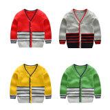 Dernière boutique bon marché de nouveaux enfants pullover à col en V pullover garçons Kids Cardigan/Chandails