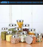 Heiß-Verkauf Küche-Glasspeicher-Dichtungs-Kanister-Potenziometer mit Metallkappe