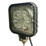 "12V 24V 56W Square 5 "" DEL Tractor Work Light"