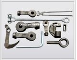 自動鍛造材の部品の鍛造材のアルミニウム部品またはアルミニウム鍛造材または自動車部品か熱い造られたアルミニウム連接棒
