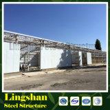 安いPebのプレハブの鉄骨構造の倉庫の建物(LS-S-091)