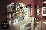 Muebles europeos de la cocina del PVC del estilo de la coctelera (zc-053)