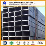 Longueur standard professionnelle pour la construction Pipe en acier rectangulaire