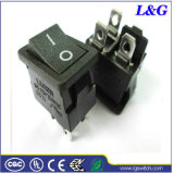 UL94V-0 12A 250VAC T85 Botão micro interruptor da Placa Oscilante