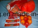 Della piccola di promozione sacchetto netto all'ingrosso e grande maglia di plastica che impacca per l'uovo dell'arancio della patata della cipolla della frutta