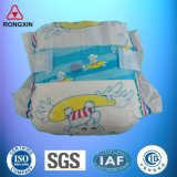 Couches-culottes respirables de coton d'absorption de qualité pour le bébé nouveau-né infantile
