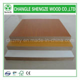 Solid Color Wood Grain Color 4X8FT Melamine Faced MDF