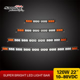 "barra ligera curvada color multi campo a través de 22 "" 4X4 LED"