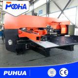 Máquina de perfuração mecânica da torreta do CNC da chapa de aço