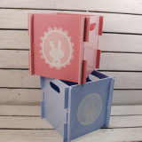 Деревянная коробка подарка En71 для хранения игрушки младенца