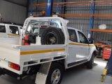 二重タクシーキットの皿のための積み込みトラックの皿ボディ