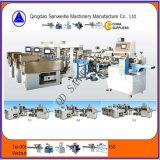 Peso automático da massa longa e máquina de embalagem