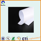 광고 플라스틱 PVC 장 광택 있는 광택 있는 백색 PVC 장 인쇄