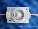 Module LED à injection étanche 1,5 W avec lentille optique