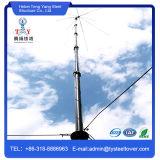 Torretta unipolare dell'albero del tipo di telecomunicazione della grata dell'antenna